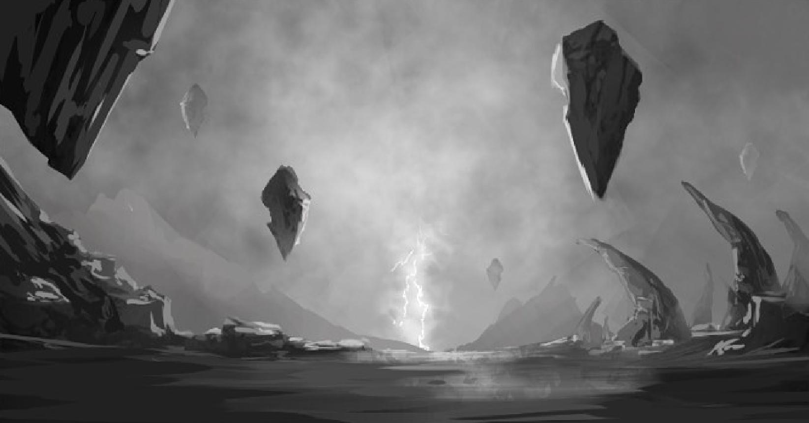 Prueba en grises ilustración Concurso de ilustración digital de la Tolosa Encounter 2017