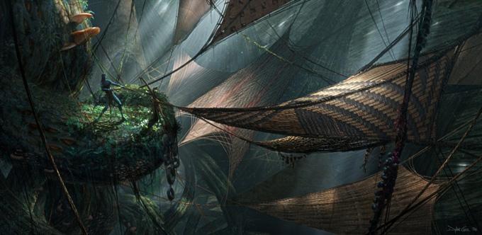 Concept Art en Avatar