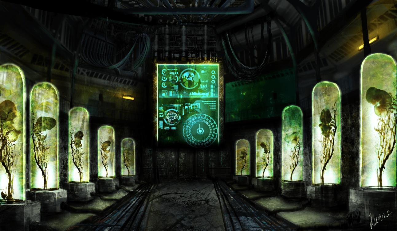 Concept art Sci-fi